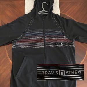 Men's 'TRAVIS MATHEW' Golf Full-Zip Hoodie XL